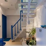 地中海风格简约复式楼梯装饰