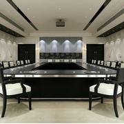 欧式大型办公室会议室装饰