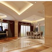 楼中楼简欧风格客厅装饰