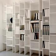 现代简约风格书柜效果图