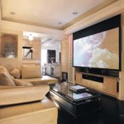 简约风格家庭影院电视柜中式