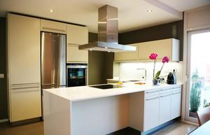 2015大户型简欧风格厨房橱柜设计装修效果图