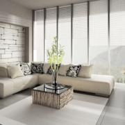 自然客厅窗户设计