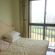 韩式清新风格卧室壁纸效果图