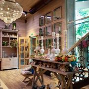 现代花店整体图