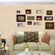 欧式田园风格墙衣装饰