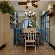 两室一厅简约风格酒柜装饰