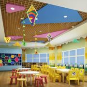 大气幼儿园室内环境装修