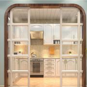 现代简约风格厨房推拉门设计