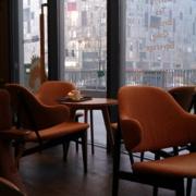 欧式简约风格咖啡厅效果图