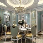欧式风格别墅奢华系吊顶装饰
