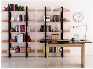韩式时尚书柜效果图