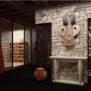 100平米东南亚房屋简约玄关装饰