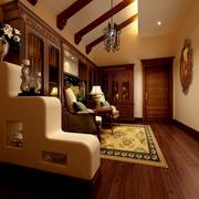 大气中式客厅装修设计