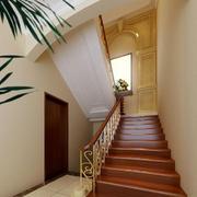高档阁楼楼梯装修效果图