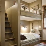 素雅单身公寓卧室装设计