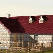 古典农村二层小别墅设计