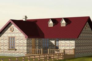 2015农村二层小别墅装修设计效果图
