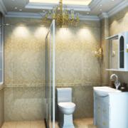 精装小户型卫生间瓷砖设计