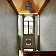 时尚别墅走廊吊顶装修设计