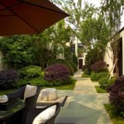 高档中式别墅庭院绿化设计