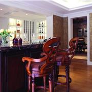 古典欧式别墅酒柜设计
