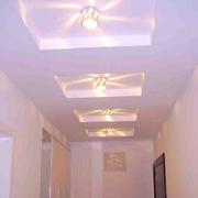 时尚客厅走廊吊顶设计