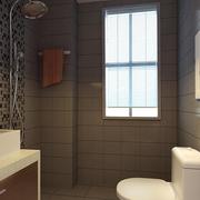 温馨小面积卫生间装修设计