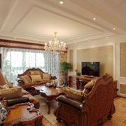 精装美式客厅装修