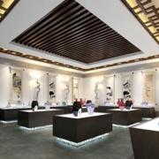 精装中式书画展厅装修