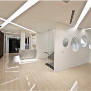时尚现代办公室走廊吊顶设计