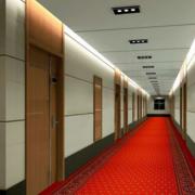 经典酒店走廊吊顶设计