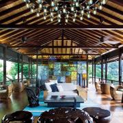 精致三居东南亚客厅装修设计