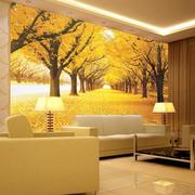 豪华欧式别墅客厅沙发墙设计