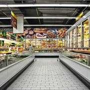 经典欧尚超市货架装修设计