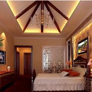 大气美式别墅卧室装修设计