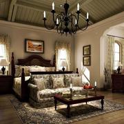 经典地中海别墅卧室装修设计