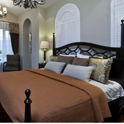 精装地中海别墅卧室装修设计
