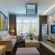 精装现代风格客厅设计