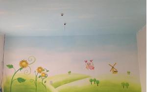 精致幼儿园壁画设计