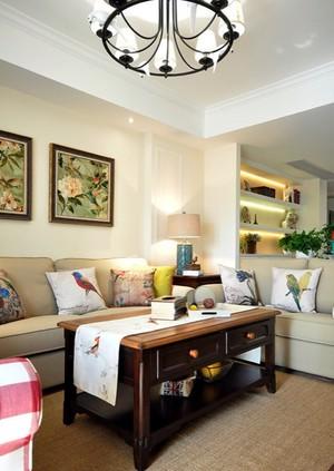 精美沙发背景装修设计