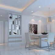 素雅欧式客厅酒柜设计