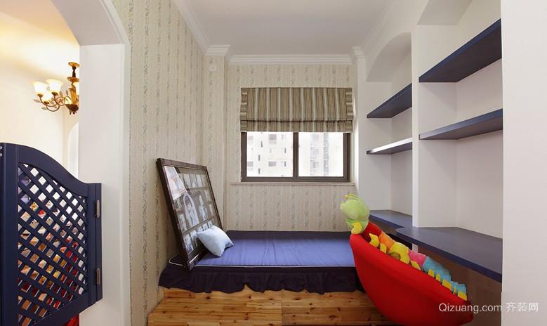 欧式小户型卧室榻榻米装修效果图
