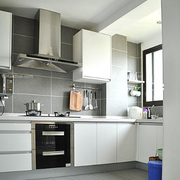 都市大户型厨房橱柜设计