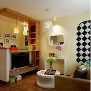时尚三室两厅客厅设计