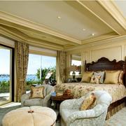 大气欧式别墅卧室装修设计