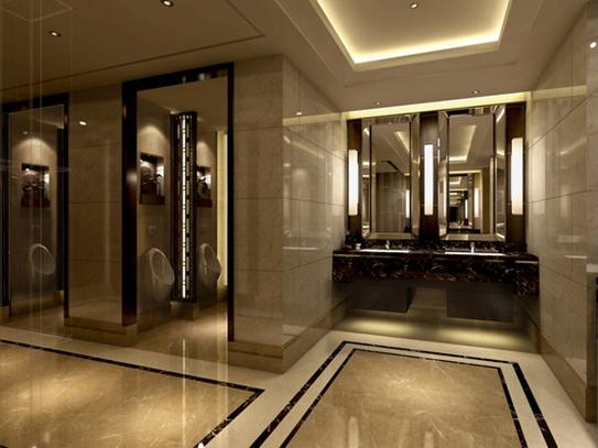 2015全新 欧式 高档酒店 公共 男 卫生间装修效果 2015全新 欧式 高档