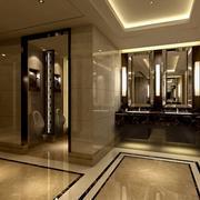 时尚酒店公厕设计