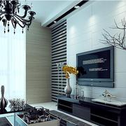 精装简约风格电视背景墙设计