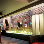恬静三居东南亚客厅装修设计